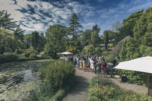 Wedding in countryside
